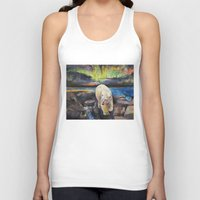 northern lights Tank Tops featuring Northern Lights by Michael Creese