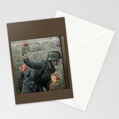 Soldier of Peace, Stop the War  Stationery Cards