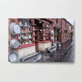 Victorian Stores Metal Print