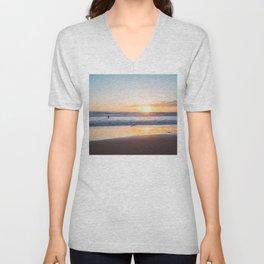 Venice Beach Surfer III Unisex V-Neck