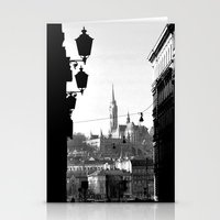 budapest Stationery Cards featuring Budapest by Lena Karafelova