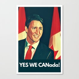 Yes We Canada! Canvas Print