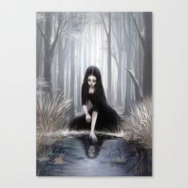 Ice mirror Canvas Print