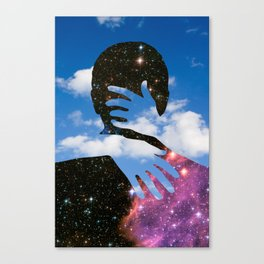 Sky Kiss Canvas Print