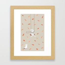 Het Prullalamonster print #1 Framed Art Print