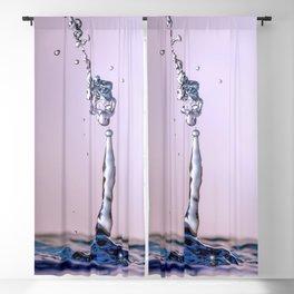 Water drop splash Blackout Curtain