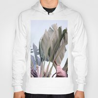palm Hoodies featuring palm by Renee-David