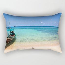 Long tail boat Thailand Rectangular Pillow