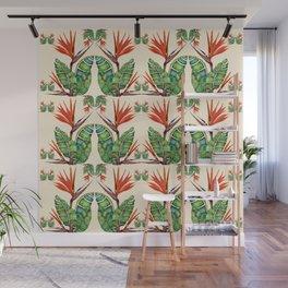 Bird of Paradise Botanical Wall Mural