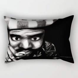 Reggae DJ Rectangular Pillow
