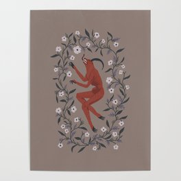 Devil in the Flowers Poster