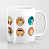 dragon age inquisition Mugs featuring Cute Inquisition by Panda