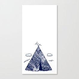 Teepee Canvas Print