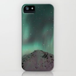 Green Sky iPhone Case