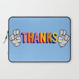"""Thanks"" Laptop Sleeve"