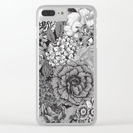 Floral Pattern 20 Clear iPhone Case