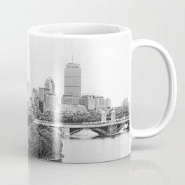 Black & White Boston Skyline III Coffee Mug