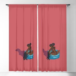 vamo na piscina? Blackout Curtain