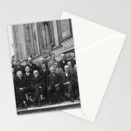1927 Solvay Conference on Quantum Mechanics Stationery Cards