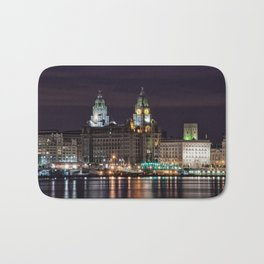Liverpool Skyline Bath Mat