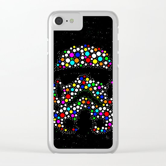 Soldier Wars Clear iPhone Case