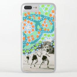 Imaginary Graffiti 005 Clear iPhone Case