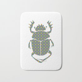 beetle with pattern Bath Mat