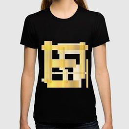 Golden Rectangle Background T-shirt