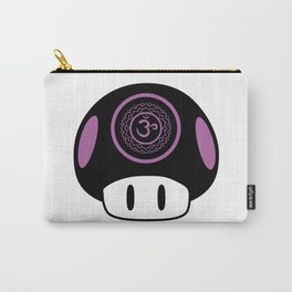 Crown Chakra Mushroom Carry-All Pouch