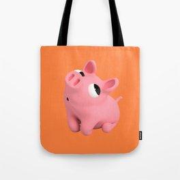 Rosa the Pig Shy Tote Bag