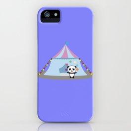 Panda in Circus juggling iPhone Case