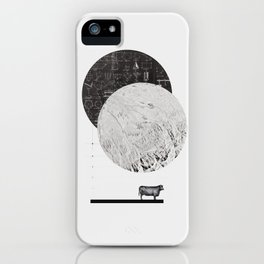 Calculating a Jump over the Moon iPhone Case