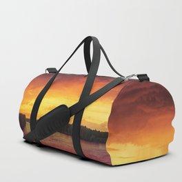 burning sky Duffle Bag