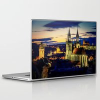 prague Laptop & iPad Skins featuring Prague by EclipseLio