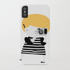 The blonde photographer Slim Case iPhone X