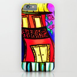 Royal Street Houses iPhone Case