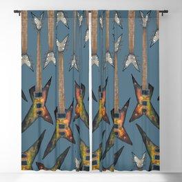 Electric Guitar 3 Blackout Curtain