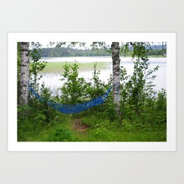 Come and relax! Art Print