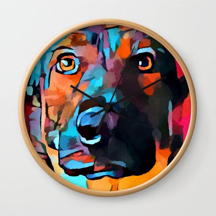 German Shepherd 7 Wall Clock