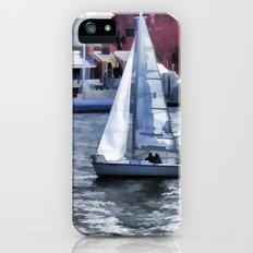 Sail boat iPhone SE Slim Case
