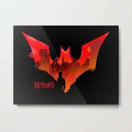 Beyond the bat Metal Print