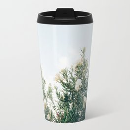 Neutral Spring Tones Travel Mug