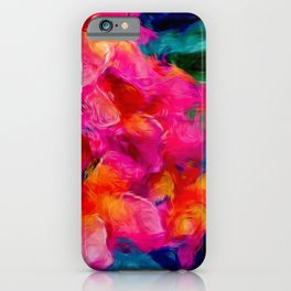Tropical Flowers by Lika Ramati iPhone Case