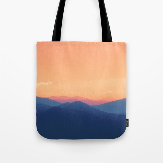 Mountains in Paradise Tote Bag