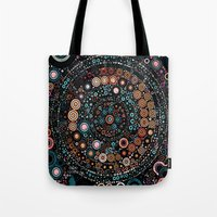 carousel Tote Bags featuring :: Carousel :: by :: GaleStorm Artworks ::