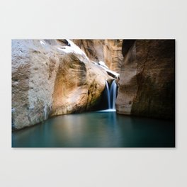 Ice and Warmth Canvas Print