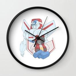 a Pair of Nerds Wall Clock