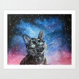 Moon Eyed Art Print