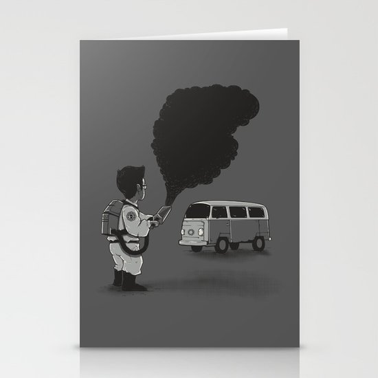 Smokebuster Stationery Cards