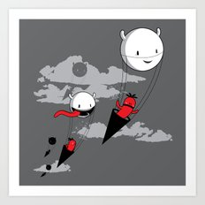 Acute Invasion Art Print